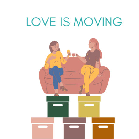 LOVE IS MOVING